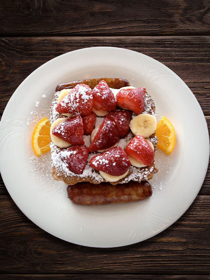 Café Beach Club French-Toast-Stack
